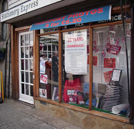 Outside view of Stationery Express